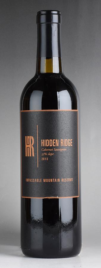 [2013] ヒドゥン・リッジ インパッサブル・マウンテン・リザーヴ カベルネ・ソーヴィニヨンアメリカ / カリフォルニア / 赤ワイン