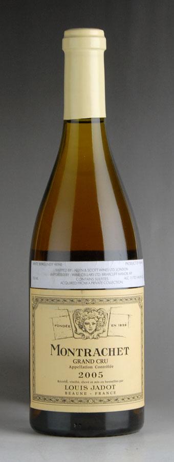 [2005] ルイ・ジャド モンラッシェフランス / ブルゴーニュ / 白ワイン[のこり1本]