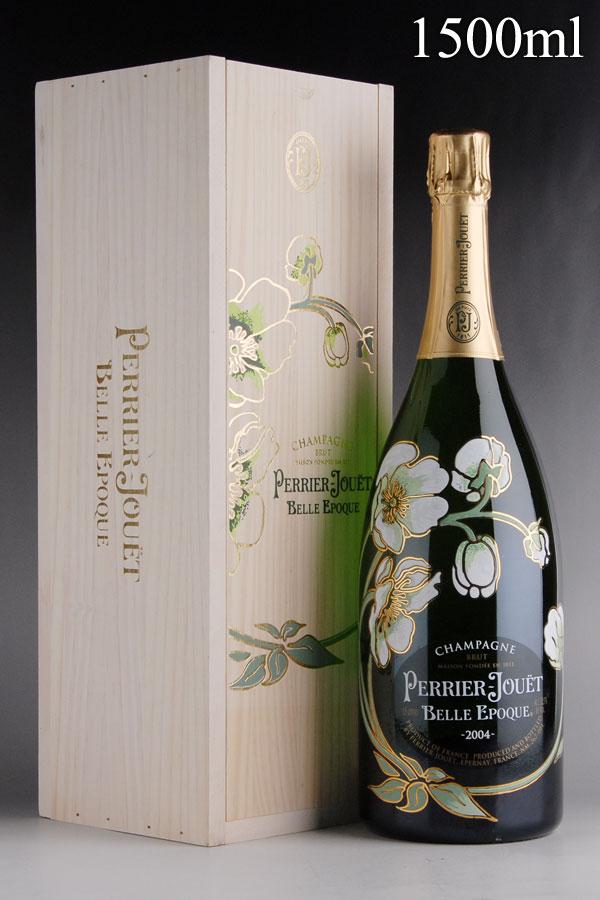 [2004] ペリエ・ジュエ ベル・エポック マグナム 1500ml 【木箱入り】フランス / シャンパーニュ / 発泡・シャンパン