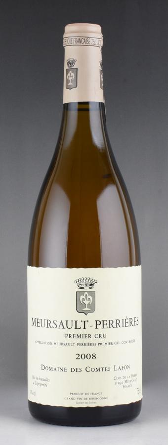 [2008] コント・ラフォン ムルソー ペリエールフランス / ブルゴーニュ / 白ワイン