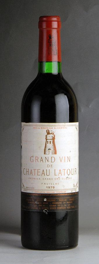 [1979] シャトー・ラトゥール ※ラベル汚れ・傷フランス / ボルドー / 赤ワイン