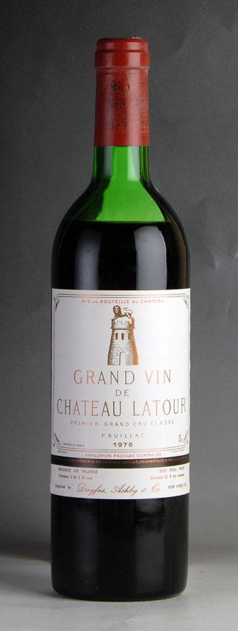 [1976] シャトー・ラトゥール ※液漏れ跡ありフランス / ボルドー / 赤ワイン