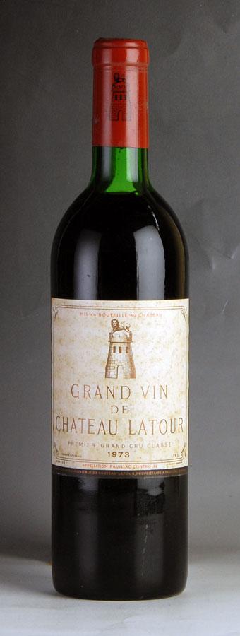 [1973] シャトー・ラトゥール ※ラベル汚れフランス / ボルドー / 赤ワイン