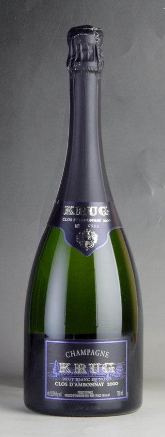 [2000] クリュッグ クロ・ダンボネ 【箱なし】フランス / シャンパーニュ / 発泡系・シャンパン