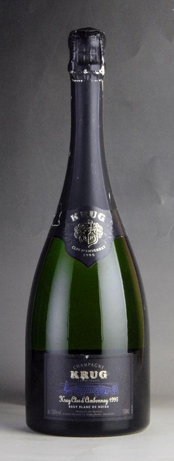 [1995] クリュッグ クロ・ダンボネ 【箱なし】 ※ラベル破れフランス / シャンパーニュ / 発泡系・シャンパン