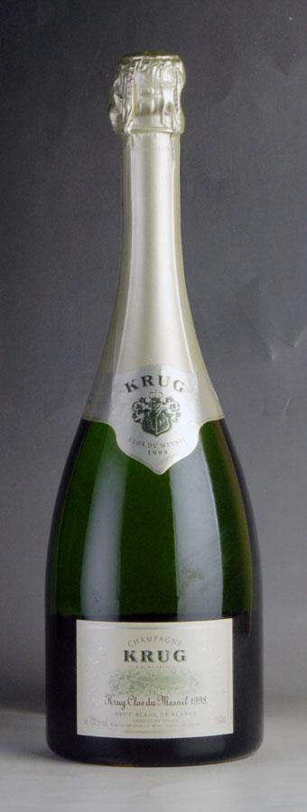 [1998] クリュッグ クロ・デュ・メニル 【箱なし】フランス / シャンパーニュ / 発泡系・シャンパン