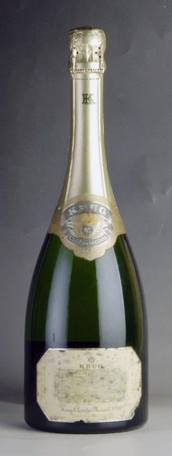 [1990] クリュッグ クロ・デュ・メニル 【箱なし】 ※ラベル汚れフランス / シャンパーニュ / 発泡系・シャンパン