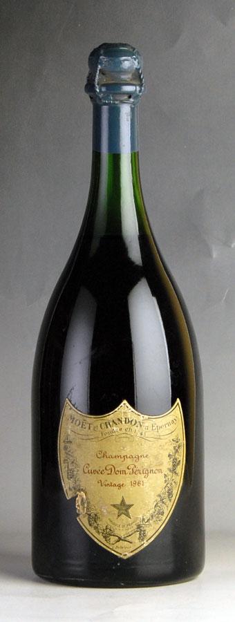[1961] ドン・ペリニヨン ヴィンテージ 【箱なし】 ※ラベル擦れ・破れフランス / シャンパーニュ / 発泡系・シャンパン