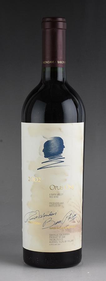 [2002] オーパス・ワン ※ラベル染みアメリカ / カリフォルニア / 赤ワイン