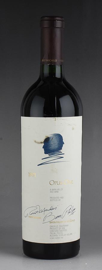 [1991] オーパス・ワン ※ラベル汚れアメリカ / カリフォルニア / 赤ワイン