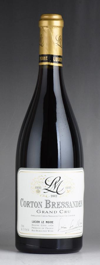 [2012] ルシアン・ル・モワンヌ コルトン・ブレッサンドフランス / ブルゴーニュ / 赤ワイン