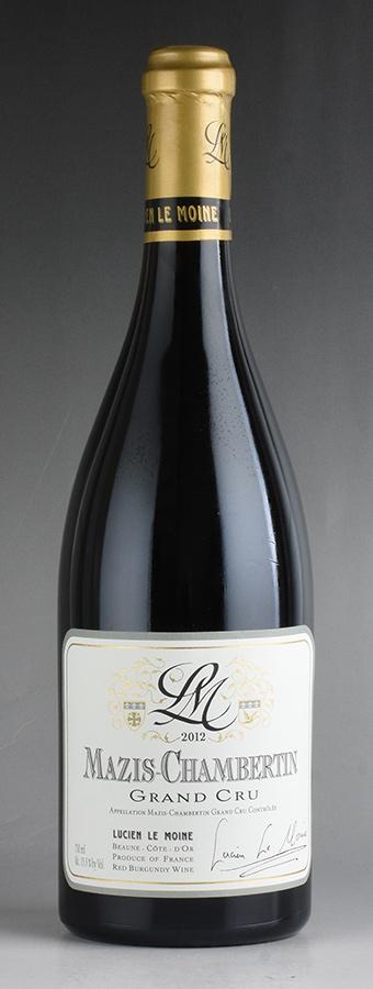 [2012] ルシアン・ル・モワンヌ マジ・シャンベルタンフランス / ブルゴーニュ / 赤ワイン