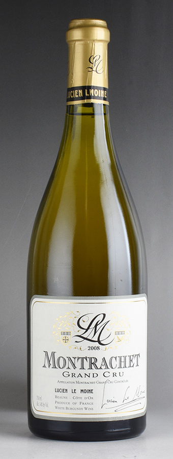 [2008] ルシアン・ル・モワンヌ モンラッシェフランス / ブルゴーニュ / 白ワイン