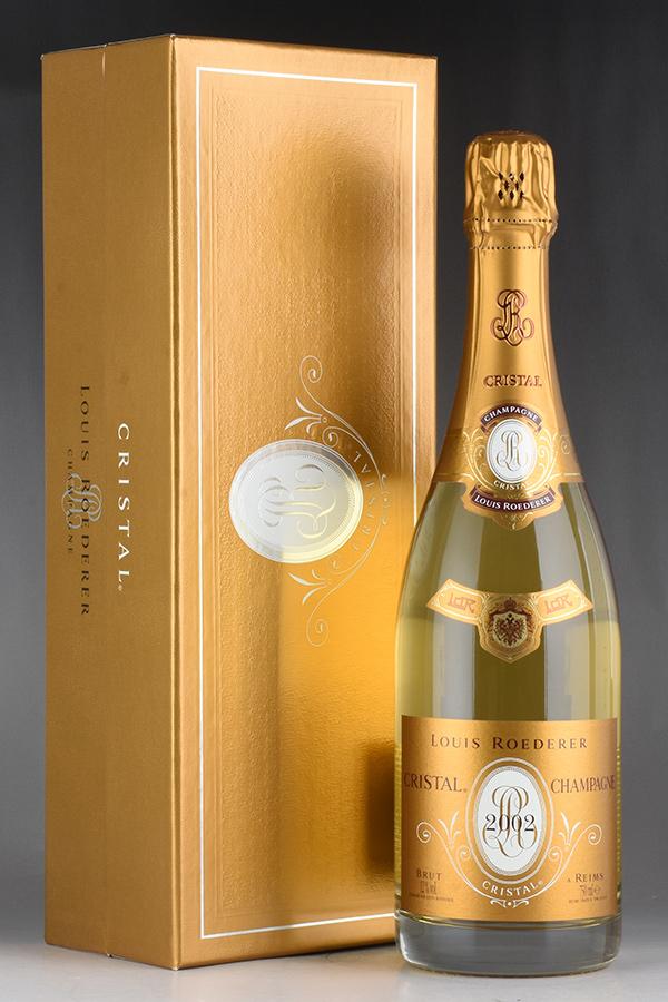 [2002] ルイ・ロデレール クリスタル 【ギフト箱】フランス / シャンパーニュ / 発泡系・シャンパン