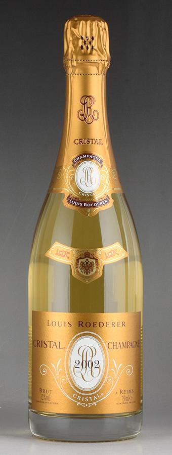[2002] ルイ・ロデレール クリスタル 【箱なし】フランス / シャンパーニュ / 発泡系・シャンパン