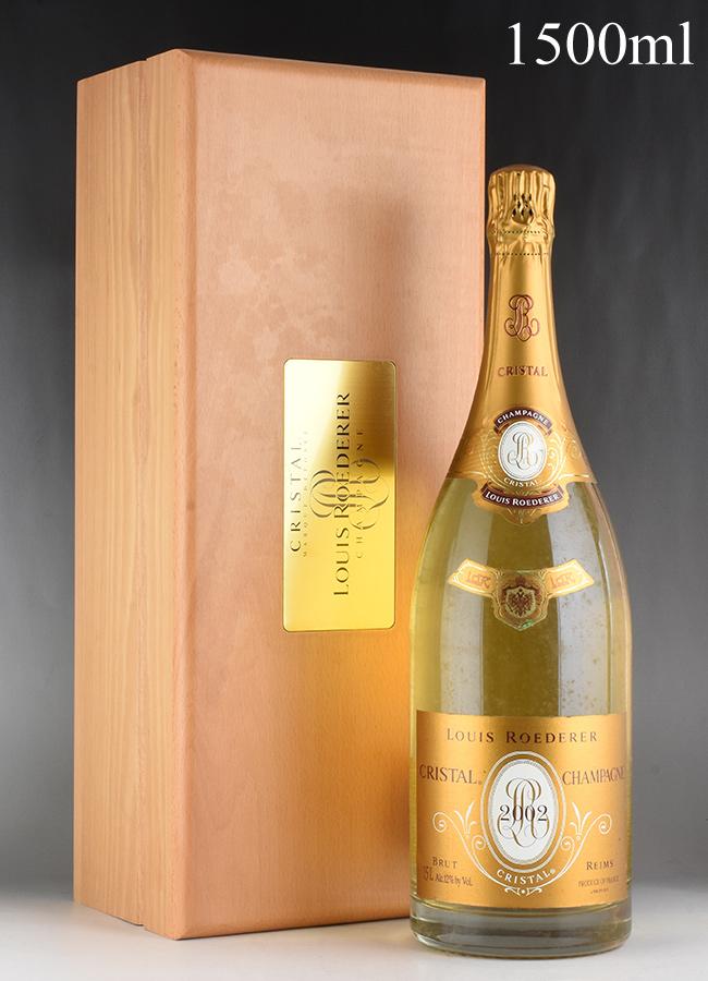 [2002] ルイ・ロデレール クリスタル マグナム 1500ml 【木箱入り】フランス / シャンパーニュ / 発泡系・シャンパン
