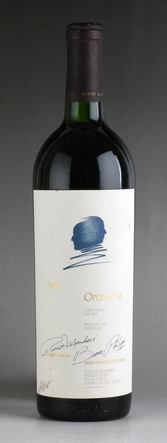 [1985] オーパス・ワン ※ラベル汚れアメリカ / カリフォルニア / 赤ワイン