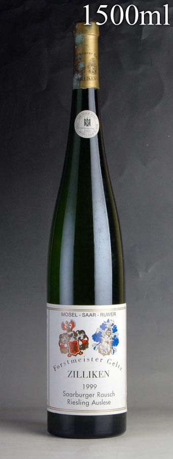 [1999] ツィリケン ザールブルガー ラウシュ リースリング アウスレーゼ ゴールドカプセル A.P #1 マグナム 1500ml ※キャップシール腐食ドイツ / 白ワイン /