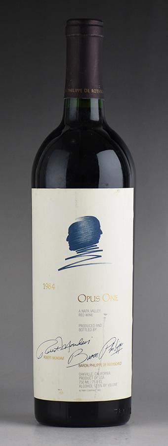 [1984] オーパス・ワン ※ラベル汚れアメリカ / カリフォルニア / 赤ワイン