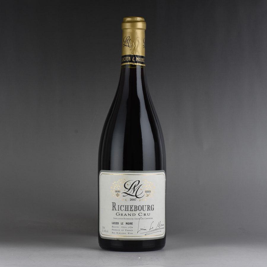 [2007] ルシアン・ル・モワンヌ リシュブールフランス / ブルゴーニュ / 赤ワイン