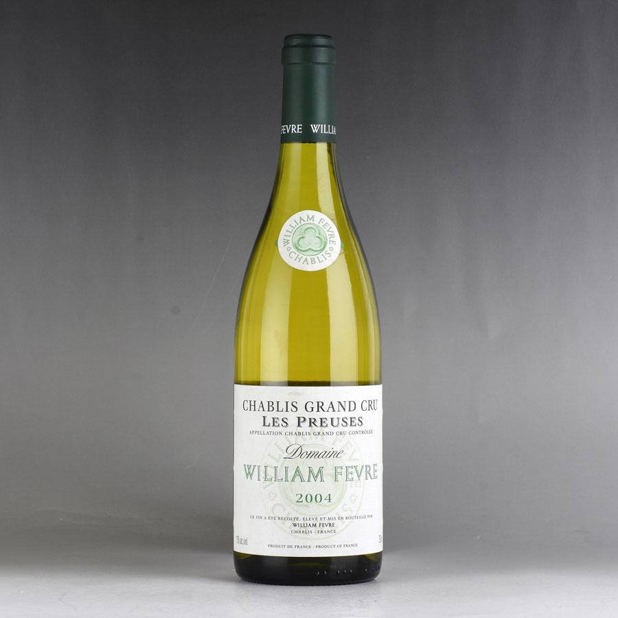 [2004] ウィリアム・フェーヴル シャブリ グラン・クリュ レ・プリューズフランス / ブルゴーニュ / 白ワイン