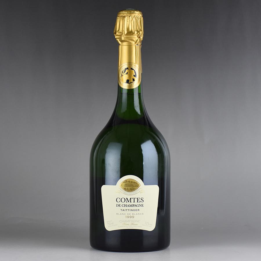 [1999] テタンジェ コント・ド・シャンパーニュ 【箱なし】フランス / シャンパーニュ / 発泡系・シャンパン