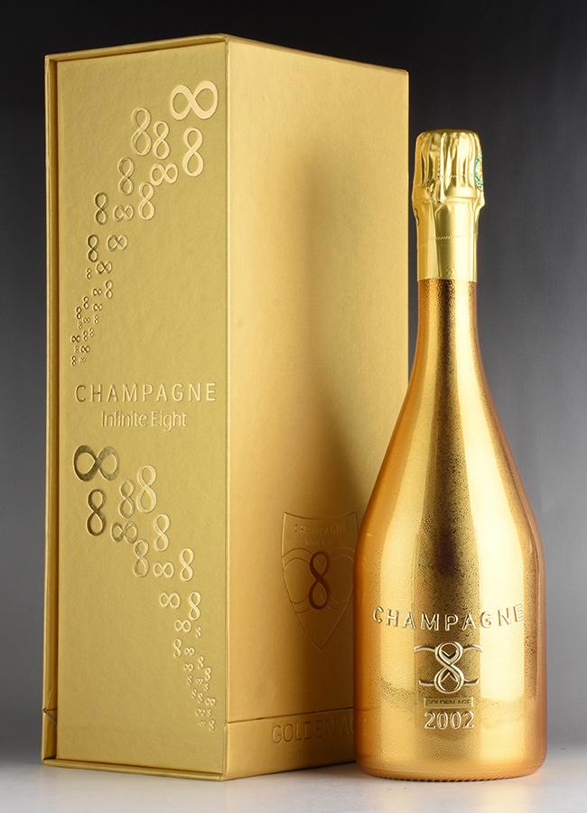 [2002] インフィニット・エイト ゴールデン・エイジ 【ギフトボックス】フランス / シャンパーニュ / 発泡・シャンパン