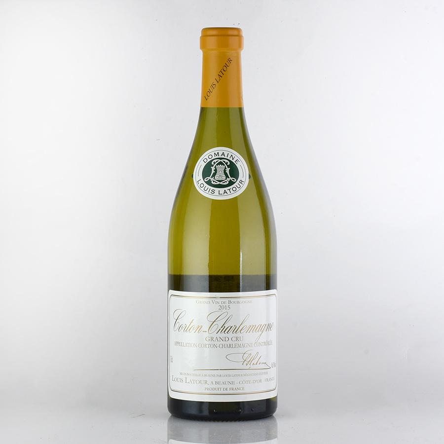 [2015] ルイ・ラトゥール コルトン・シャルルマーニュフランス / ブルゴーニュ / 白ワイン