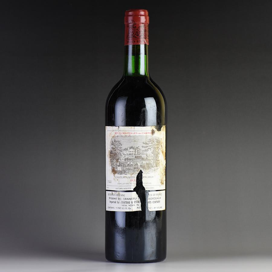 [1975] シャトー・ラフィット・ロートシルト ※ラベル汚れ・破れ、キャップシール腐食フランス / ボルドー / 赤ワイン
