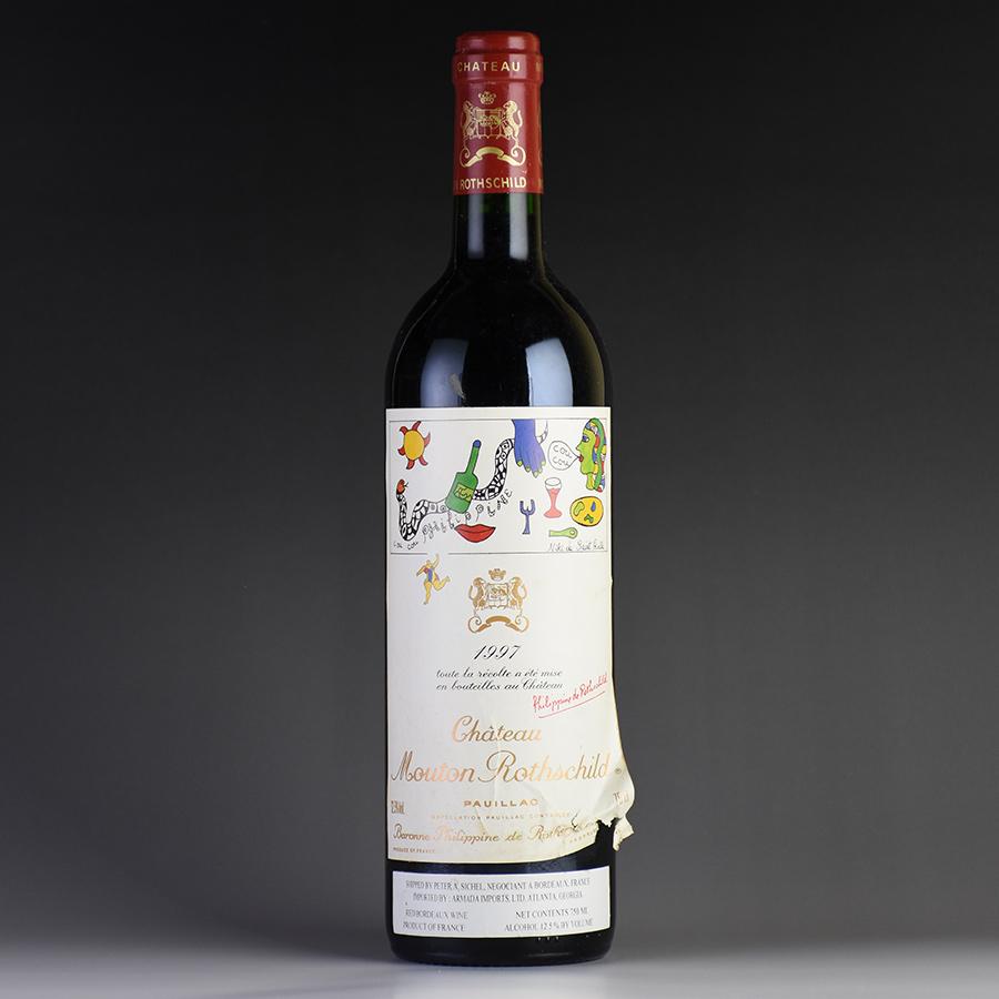 [1997] シャトー・ムートン・ロートシルト ※ラベルしわ、破れフランス / ボルドー / 赤ワイン
