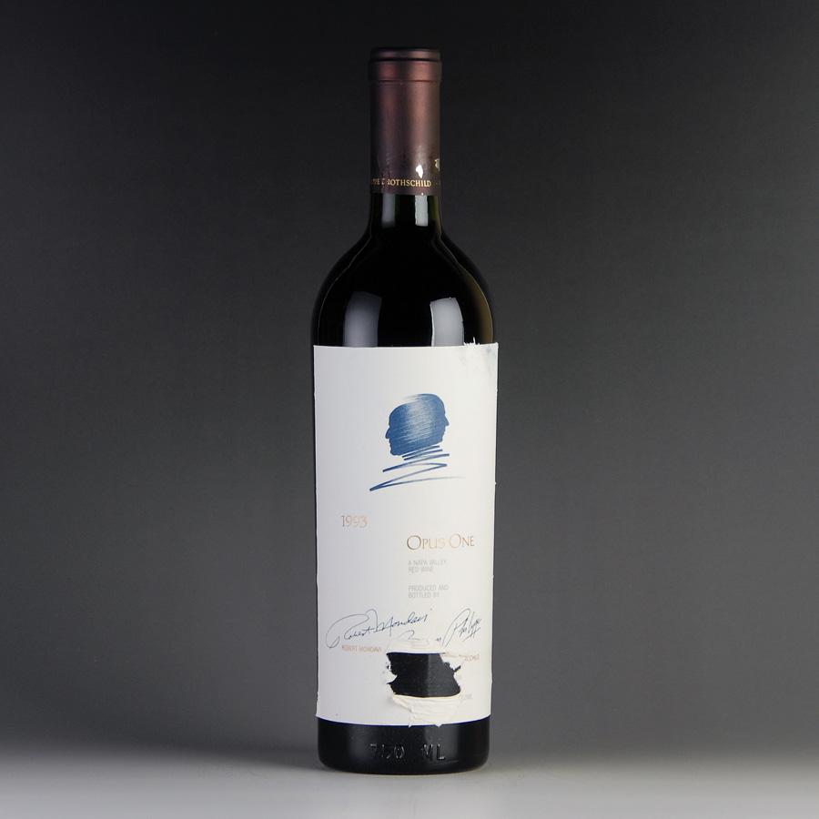 [1993] オーパス・ワン ※ラベル破れアメリカ / カリフォルニア / 赤ワイン