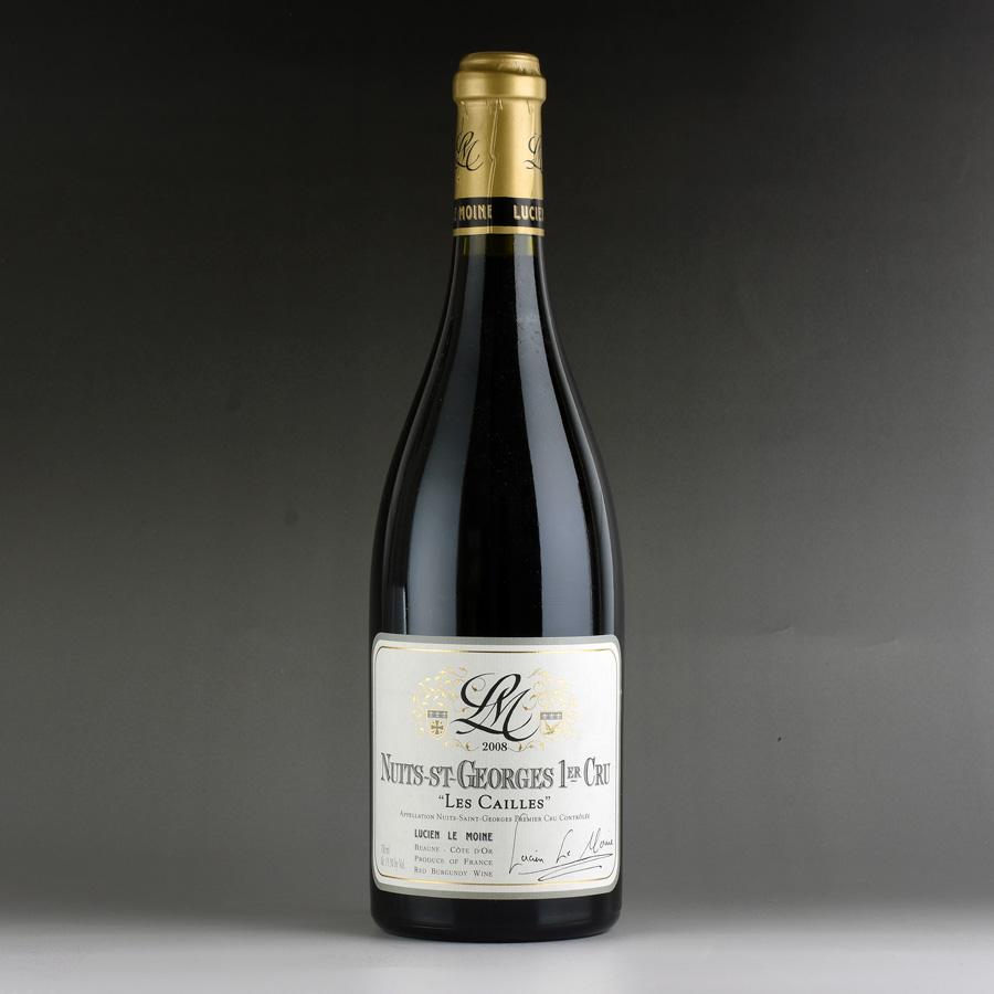 [2008] ルシアン・ル・モワンヌ ニュイ・サン・ジョルジュ レ・カイユフランス / ブルゴーニュ / 赤ワイン
