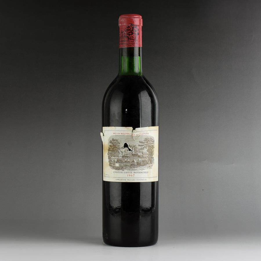 [1967] シャトー・ラフィット・ロートシルト ※ラベル破れ、コルク下がりフランス / ボルドー / 赤ワイン