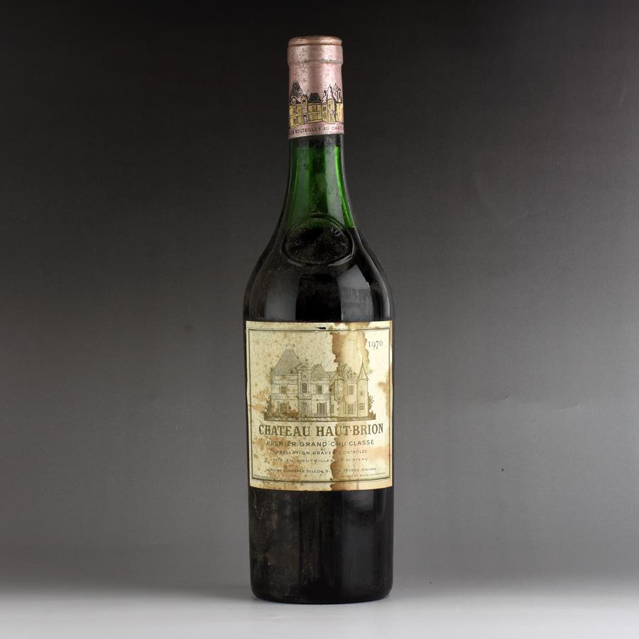 [1970] シャトー・オー・ブリオン ※ラベル汚れ、傷フランス / ボルドー / 赤ワイン