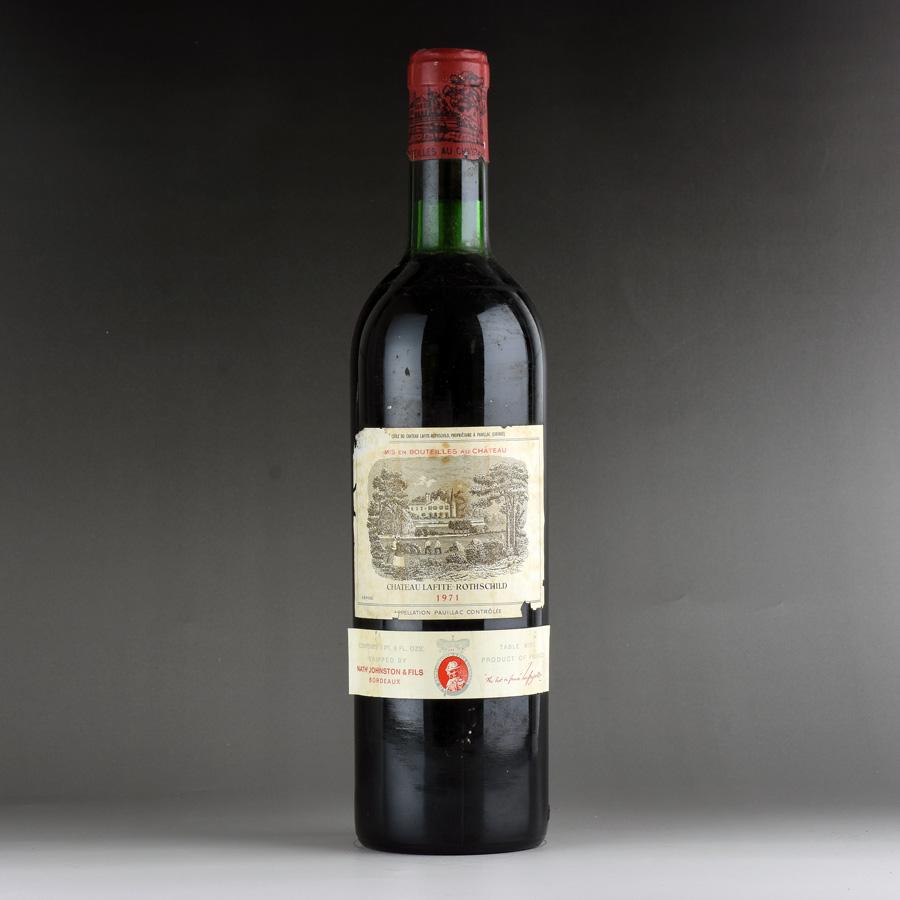 [1971] シャトー・ラフィット・ロートシルト ※ラベル破れ、汚れフランス / ボルドー / 赤ワイン