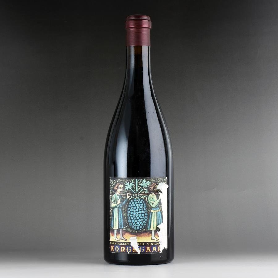 [2001] コングスガード シラー ※ラベル破れアメリカ / カリフォルニア / 赤ワイン