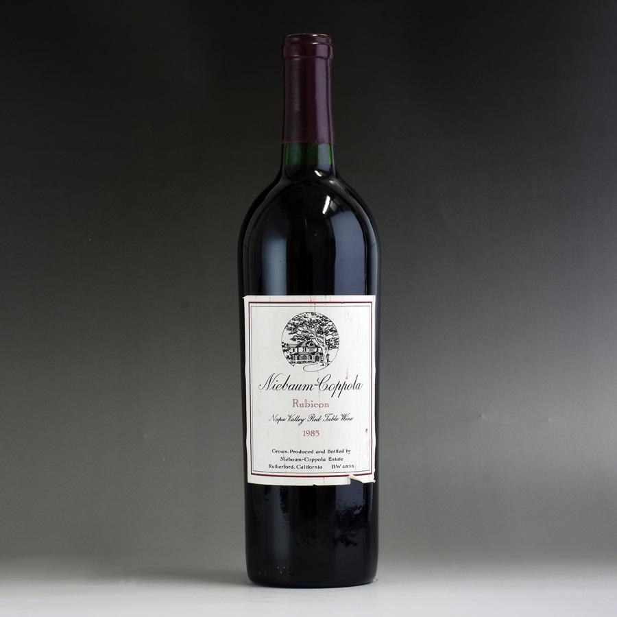 [1985] ニーバム・コッポラ ルビコン ※ラベル破れ、汚れアメリカ / カリフォルニア / 赤ワイン
