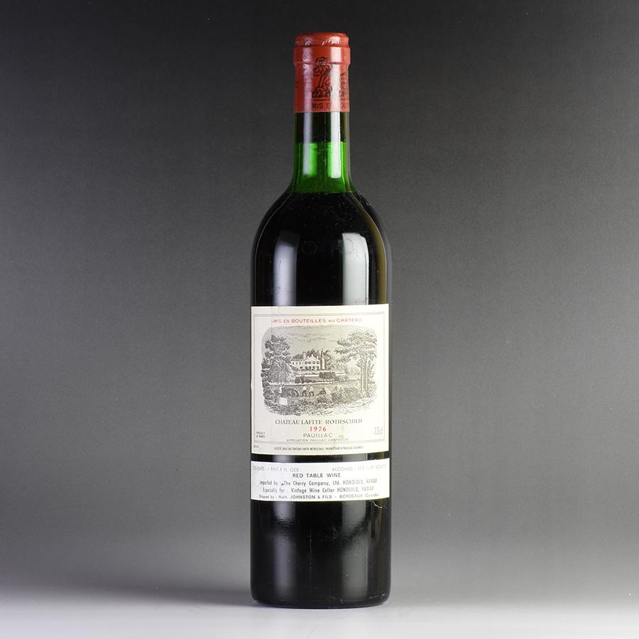 [1976] シャトー・ラフィット・ロートシルトフランス / ボルドー / 赤ワイン