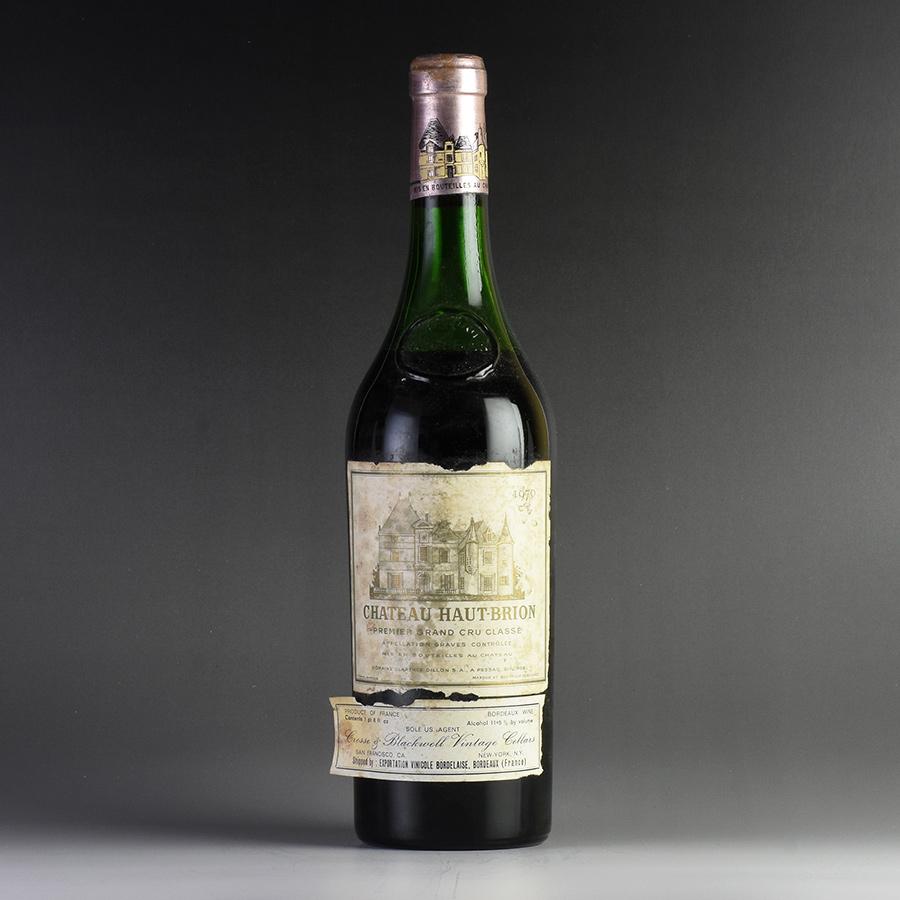 [1970] シャトー・オー・ブリオン ※ラベル破れ・汚れ、液面低めフランス / ボルドー / 赤ワイン