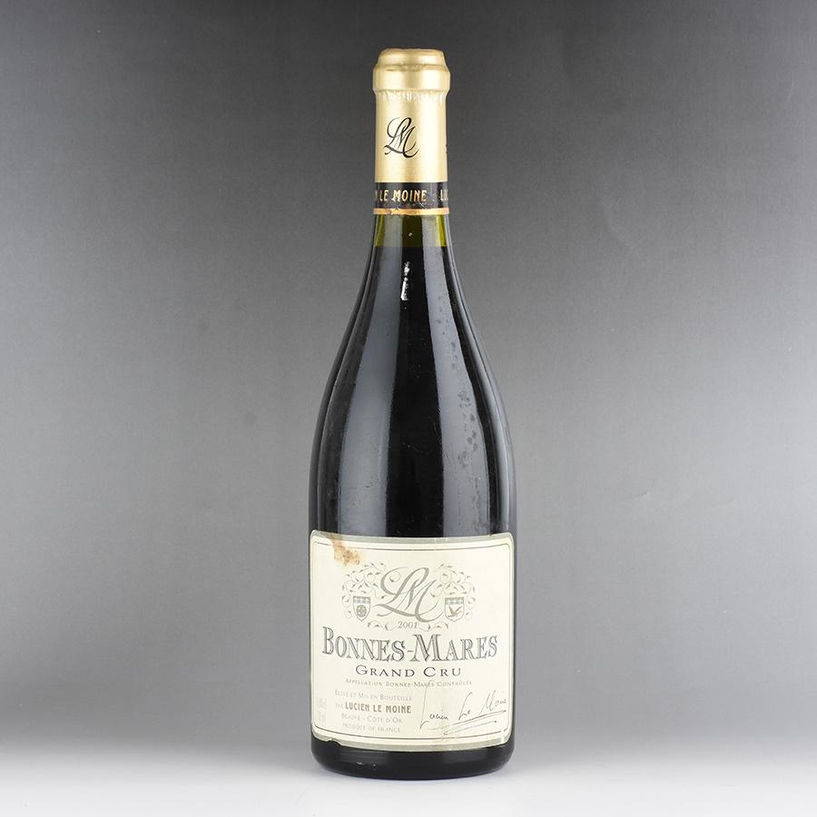 [2001] ルシアン・ル・モワンヌ ボンヌ・マール ※液漏れ、ラベル汚れフランス / ブルゴーニュ / 赤ワイン