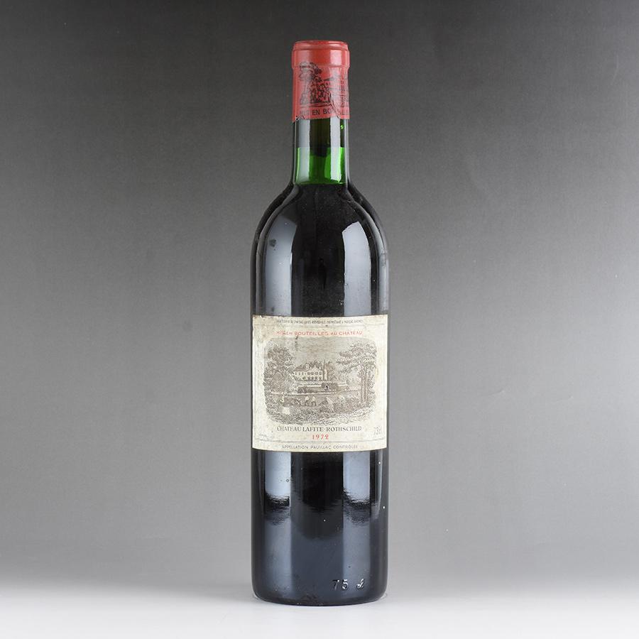 [1972] シャトー・ラフィット・ロートシルト ※ラベル汚れフランス / ボルドー / 赤ワイン