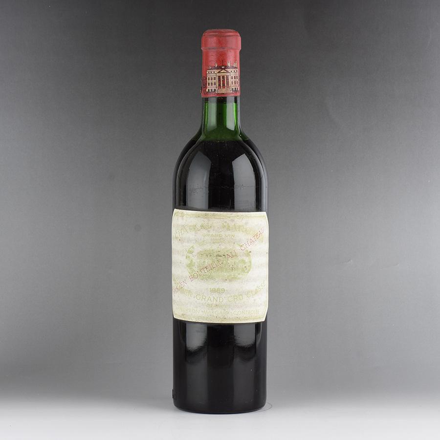 [1969] シャトー・マルゴー ※ラベル退色、汚れフランス / ボルドー / 赤ワイン