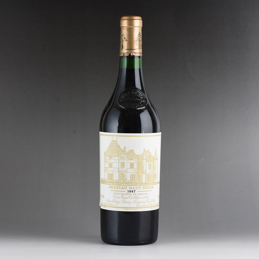 [1987] シャトー・オー・ブリオン ※ラベル擦れ、ヨレありフランス / ボルドー / 赤ワイン[outlet]