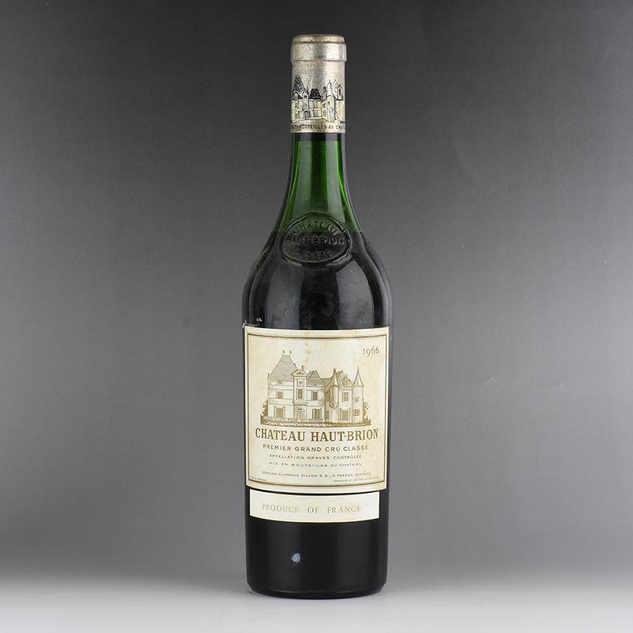 [1966] シャトー・オー・ブリオン ※ラベル汚れ、コルク下がりフランス / ボルドー / 赤ワイン