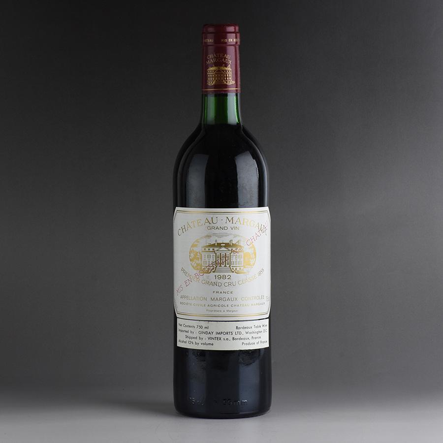 [1982] シャトー・マルゴー ※ラベル汚れフランス / ボルドー / 赤ワイン