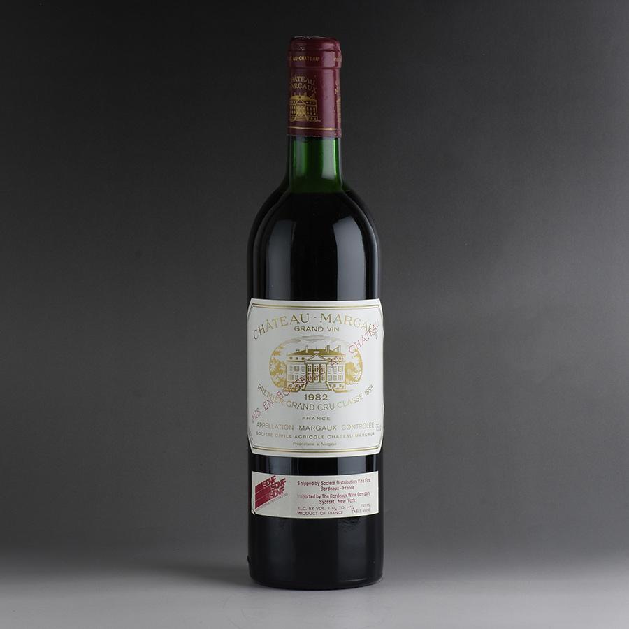 [1982] シャトー・マルゴー ※キャップシール腐食フランス / ボルドー / 赤ワイン