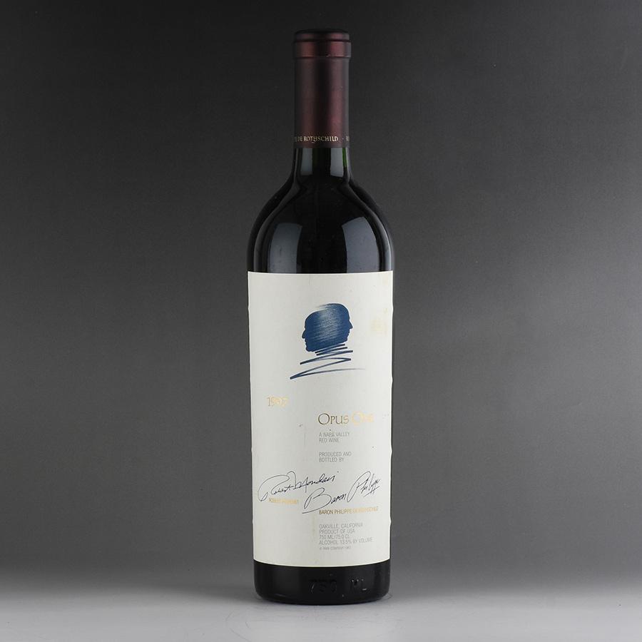【送料無料】 [1997] オーパス・ワン ※液漏れ、ラベル汚れアメリカ / カリフォルニア / 赤ワイン