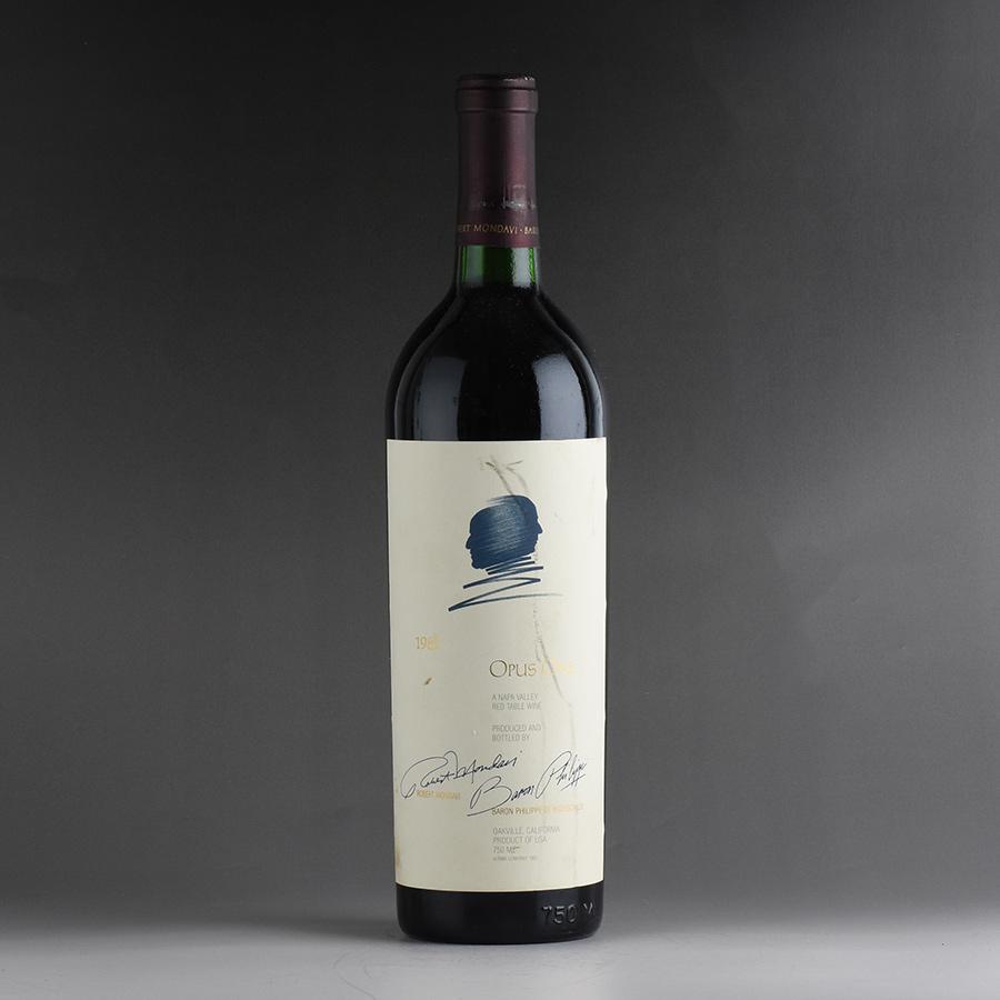 【送料無料】 [1982] オーパス・ワン ※ラベル汚れアメリカ / カリフォルニア / 赤ワイン