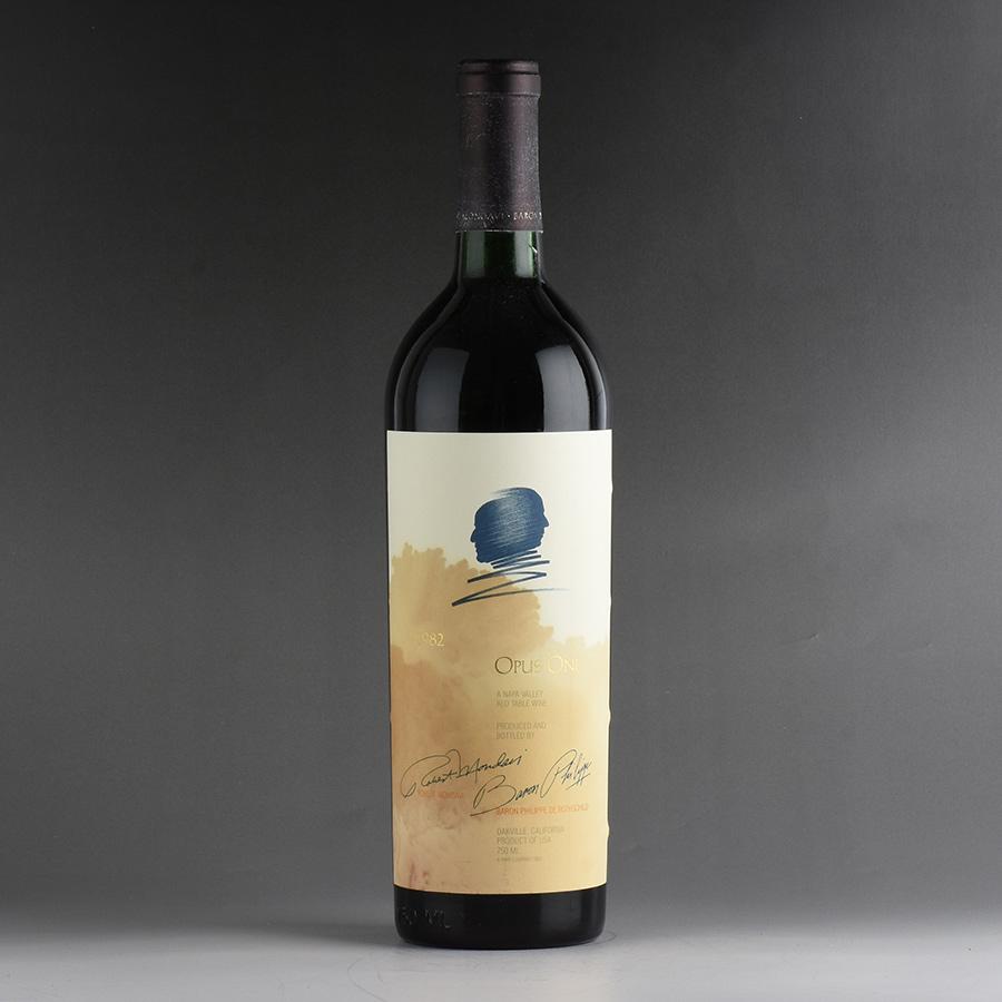 【送料無料】 [1982] オーパス・ワン ※ラベル染み汚れ、キャップシール腐食アメリカ / カリフォルニア / 赤ワイン