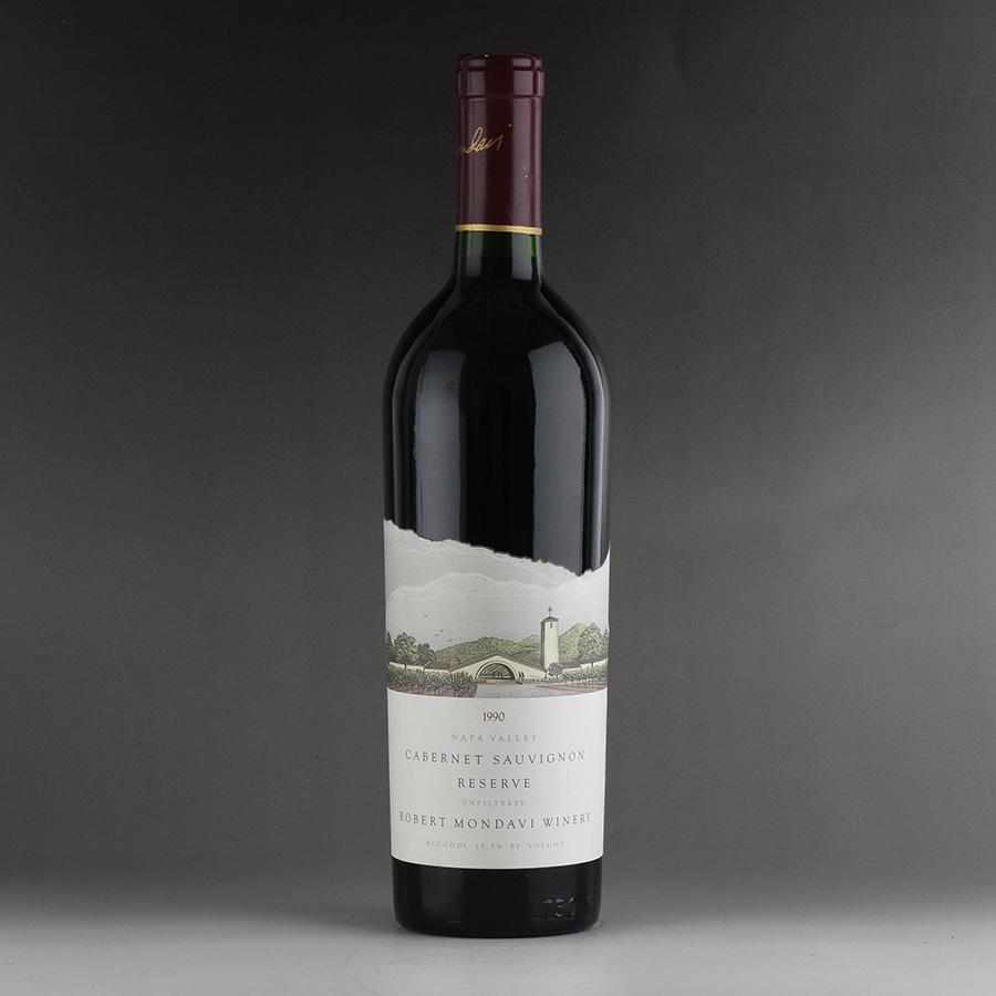 [1990] ロバート・モンダヴィ カベルネ・ソーヴィニヨン リザーヴアメリカ / カリフォルニア / 赤ワイン